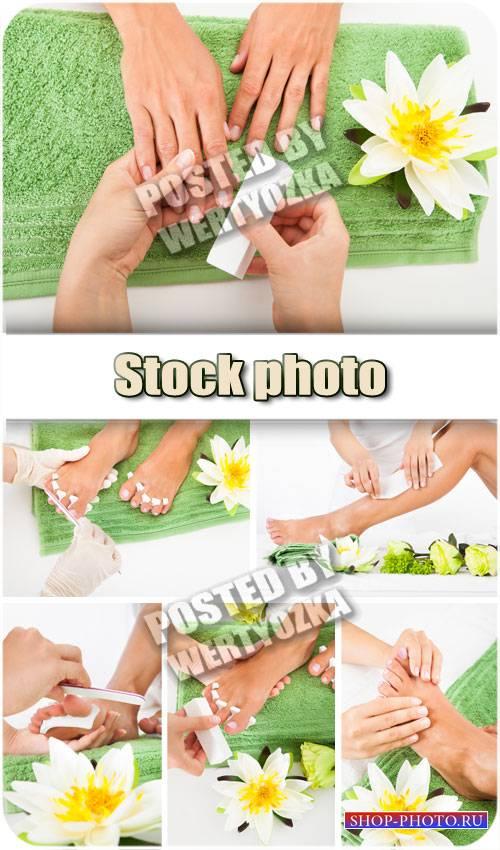 Профессиональный спа-уход за руками и ногами / Professional spa treatment - ...