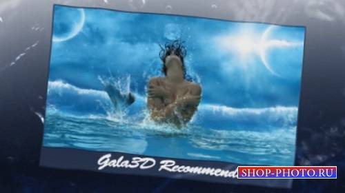 Проект (templates) для After Effects - Ripples Effect