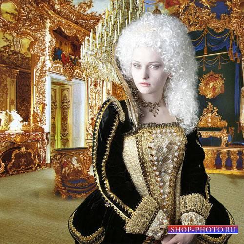 Шаблон женский - Покои королевы