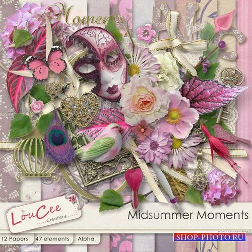 Романтические скрап-комплект - Летние моменты
