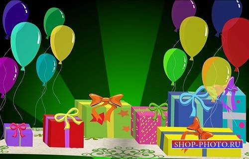 Проект Birthday Card Pop up V1 для After Effects