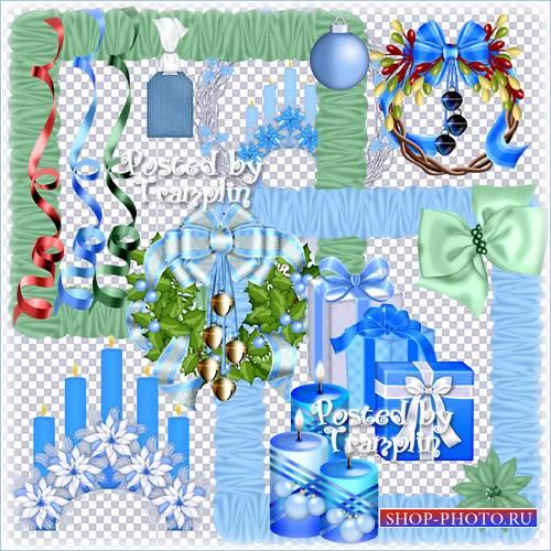 Новогодний и Рождественский клипарт в Png