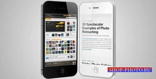Проект для After Effects - 4g phone advertisement