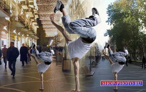 Мужской шаблон - Танцор