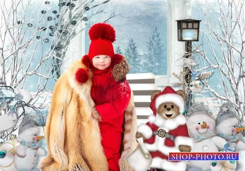 Шаблон  детский - Мне мороз не страшен