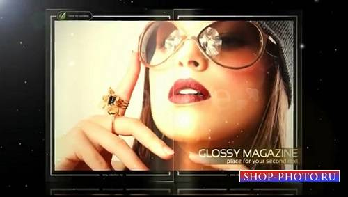 Проект для After Effects - Glossy Magazine HD