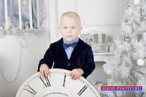 Шаблон детский - Новогодняя фотосессия