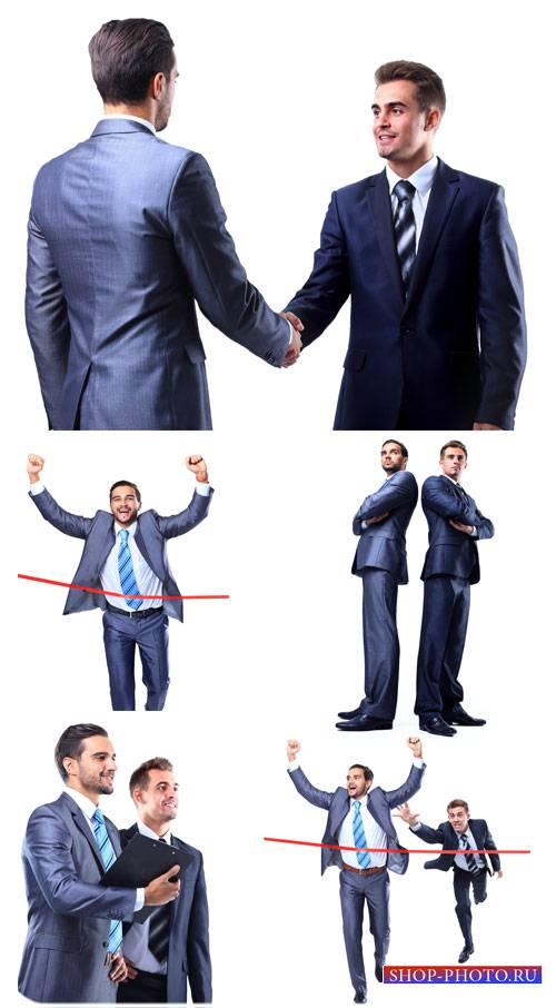 Мужчины и бизнес, деловые люди - сток фото