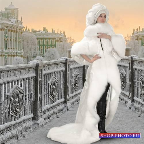 Шаблон  женский - Город белых ночей