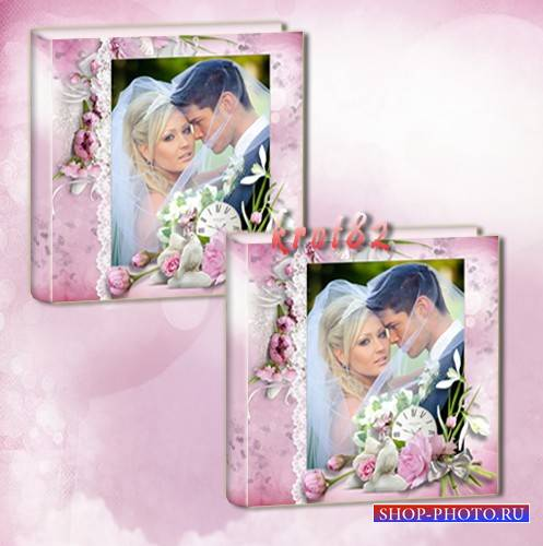 Свадебная фотокнига – Магия нежности