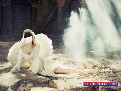 Шаблон для девушек - Ангел спустилась на Землю