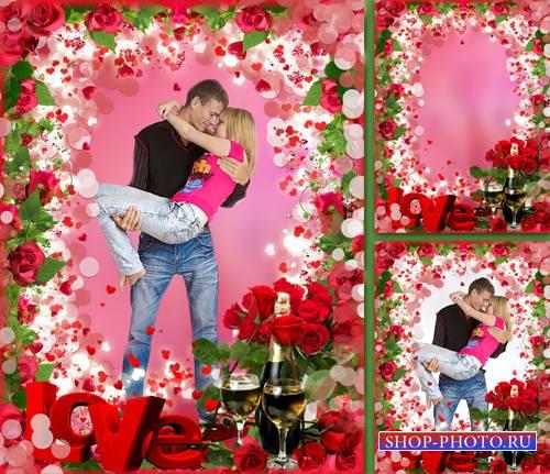 Фоторамочка  - Love ,Love..