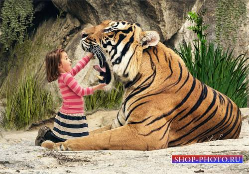 Шаблон  детский - Ну и зубки
