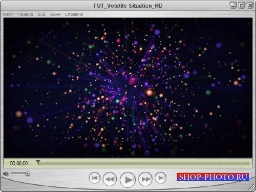 Видеофутаж - Небо в звездах