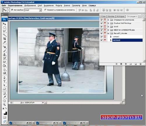 Видео обучающее для photoshop - Красивое оформление фото