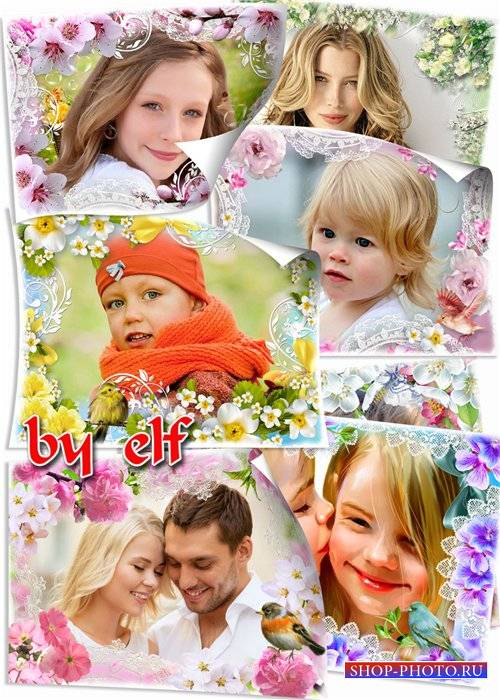 Рамки для фото - Краски весны