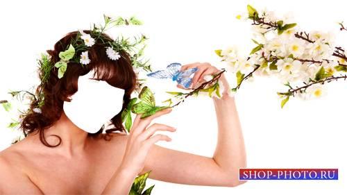 Шаблон женский - Нежная фотосессия