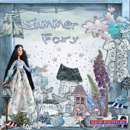 Летний скрап-комплект - Летняя фея