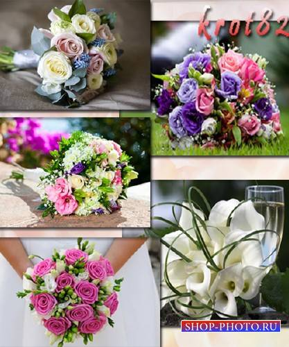 Фото сток – Букет невесты