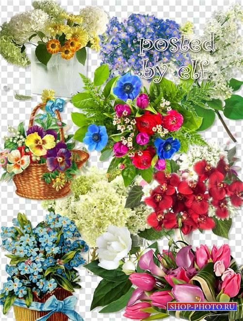Клипарт в png - Дарите женщинам цветы