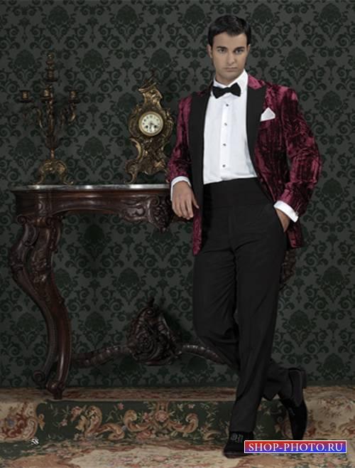 Шаблон  мужской - Джентльмен
