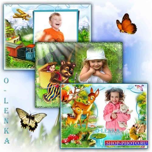Рамки для фотошопа - Для детей