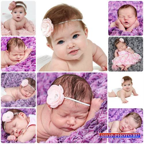 Маленькие спящие дети / Small children, sleeping children - Stock photo