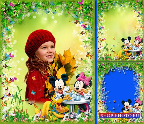 Детская фоторамочка - На пикнике