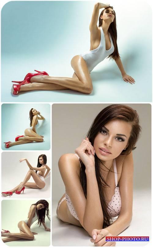 Обворожительные девушки / Charming girls, girls in high heels - Stock photo