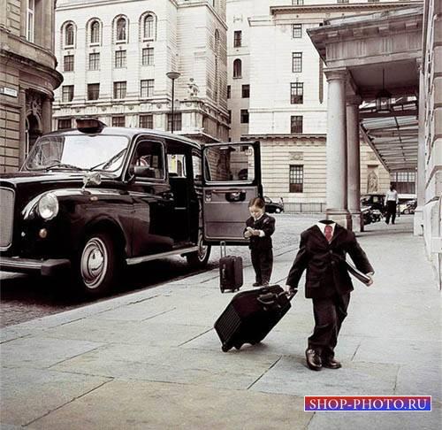 Шаблон для photoshop - Маленький миллионер