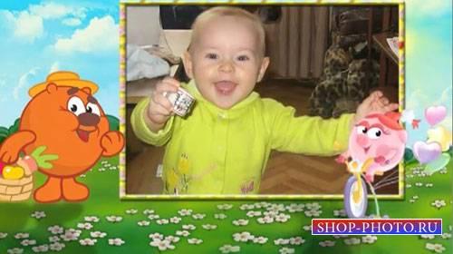 Детский проект для ProShow Producer - Смешарики