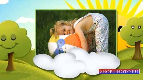 Детский проект для ProShow Producer - Лето