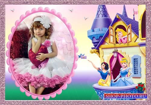 Рамка детская – Письмо от принцессы