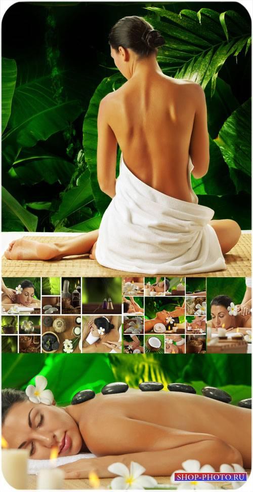 Spa процедуры, спа уход за телом, спа массаж / Spa treatments, spa body car ...