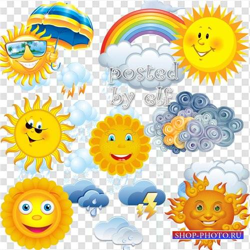 солнце и тучка своими руками