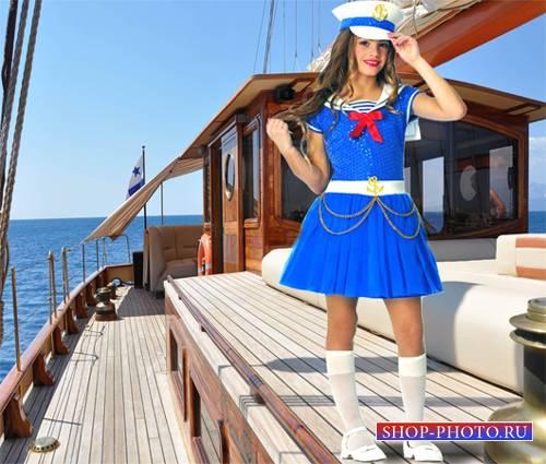 Шаблон  детский - Моя морячка