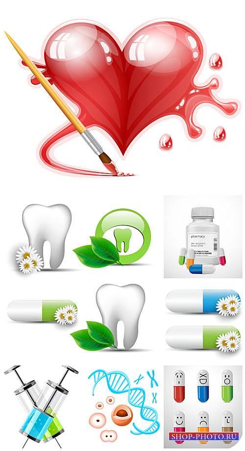 Медицина в векторе, здоровье / Vector medicine, health