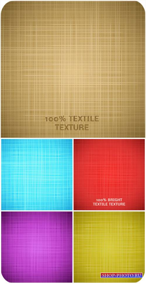 Текстиль, фоны в векторе / Textiles, backgrounds vector
