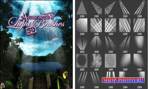 Кисти для фотошопа - Amaranth's light brushes
