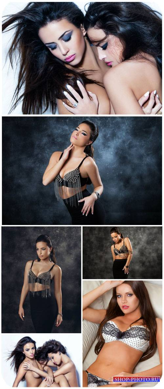 Красивые девушки  / Beautiful girls - Stock Photo