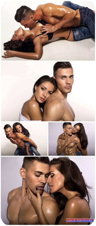 Мужчина и женщина, пара / Man and woman couple - Stock Photo
