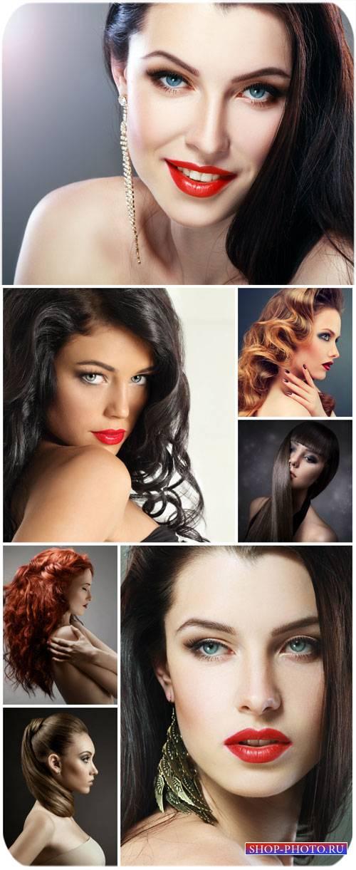 Модные девушки, гламур / Fashionable girl, glamor - Stock photo