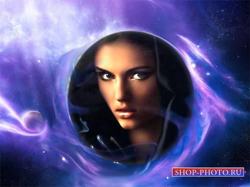 Фоторамка - Окутанный тайной космос