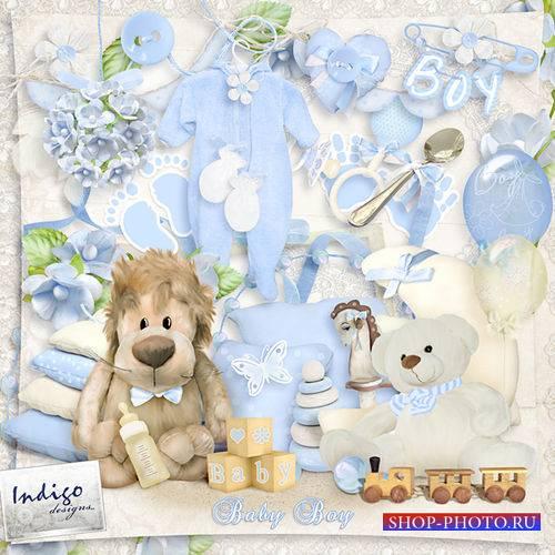 Очаровательный детский скрап-комплект - Мой малыш