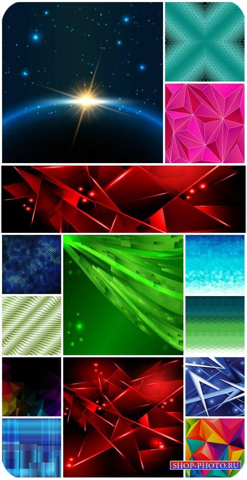 Разноцветные фоны, абстракция в векторе / Colorful backgrounds, abstract ve ...