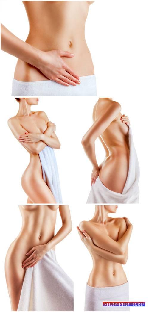 Красивое женское тело, уход за телом / Beautiful female body, body care - S ...