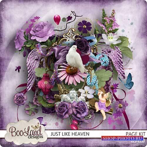 Романтический скрап-комплект - Just like heaven
