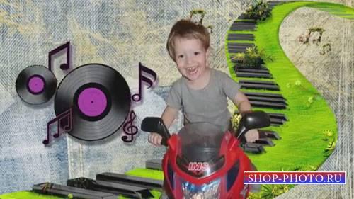 Детский проект для ProShow Producer - Джинс