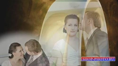 Свадебный проект для ProShow Producer - Золотые кольца