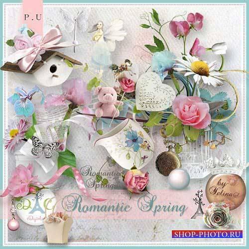 Романтический скрап-комплект - Романтическая весна